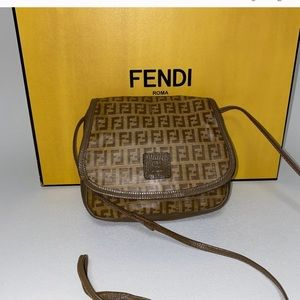 Fendi crossbody clutch